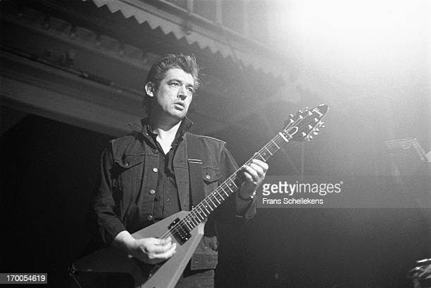 English guitarist Chris Spedding performs at the Paradiso in Amsterdam, Netherlands on 17th May 1988.