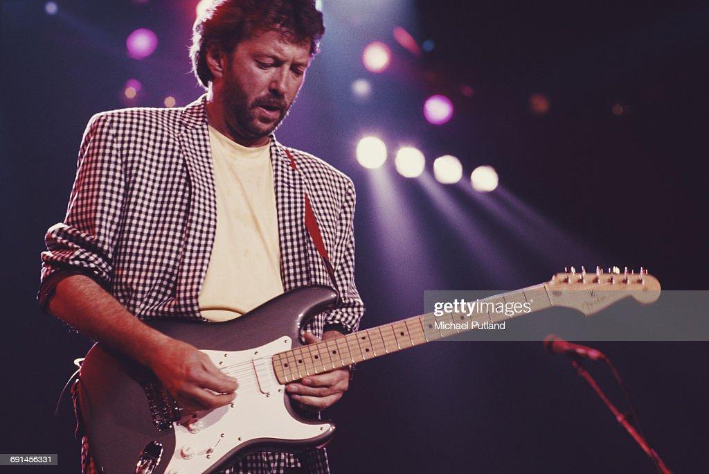 Clapton At Prince's Trust Rock Gala : ニュース写真