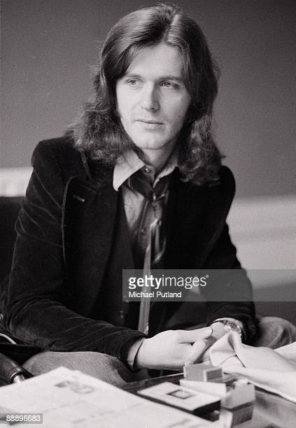 English guitarist John Wetton of various rock groups including Family and King Crimson UK 2nd March 1973