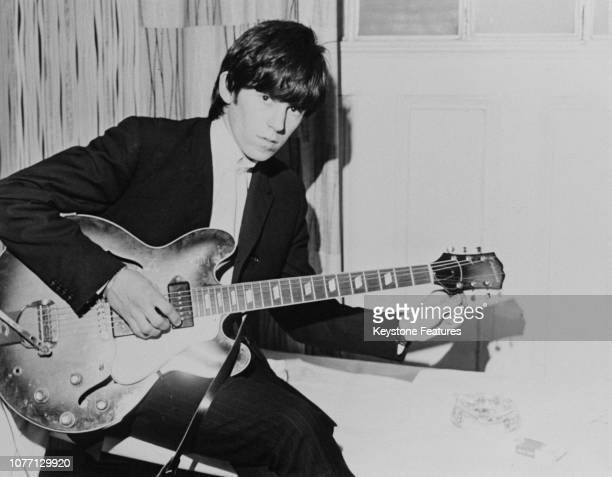 English guitarist Keith Richards of the Rolling Stones circa 1965