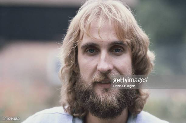 English guitarist Mike Rutherford of rock band Genesis circa 1975