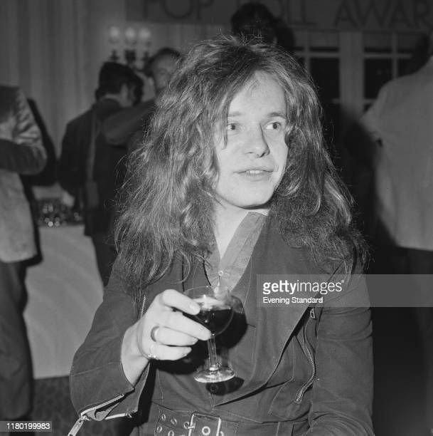 English guitarist Paul Kossoff of rock group Free attends the annual Melody Maker Pop Poll Music Awards in London on 16th September 1970.