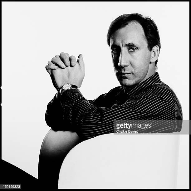 English guitarist Pete Townshend of The Who London December 1981