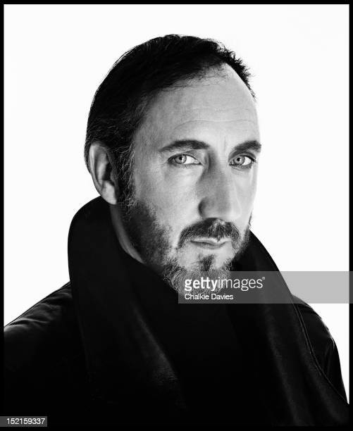 English guitarist Pete Townshend of The Who New York 1989