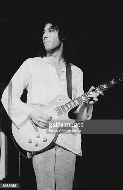 English guitarist Peter Green performing with Fleetwood Mac at the Royal Albert Hall London 22nd April 1969