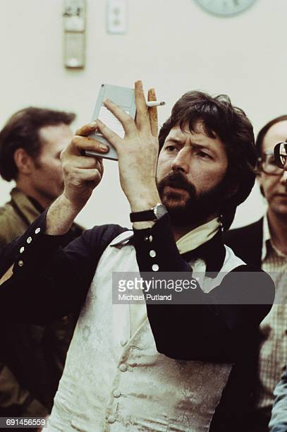 English guitarist singer and songwriter Eric Clapton 1975