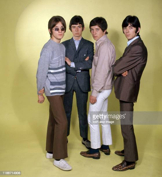 English guitarist, songwriter and frontman Steve Marriott , English musician, songwriter and producer Ronnie Lane, English drummer Kenney Jones, and...