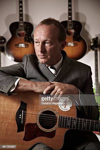 English guitarist Steve Craddock best known for his work with Ocean Colour Scene and Paul Weller photographed during a portrait shoot for Guitarist...