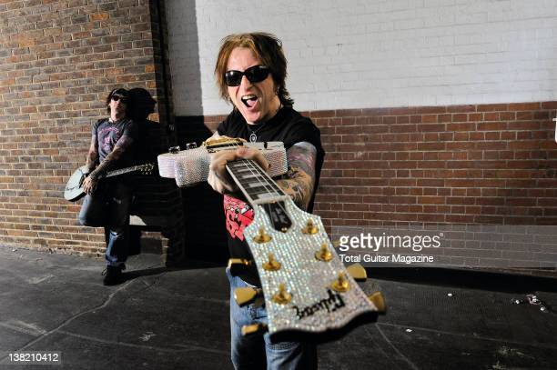 English guitarist, vocalist and songwriter Ginger. Famous for playing with The Quireboys, The Wildhearts and the Michael Monroe Band. During a...