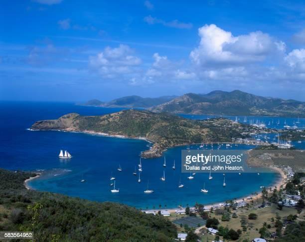 English Harbour on Antigua