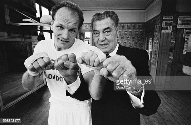 English heavyweight boxer Henry Cooper and American boxer Jack Dempsey UK 19th October 1967