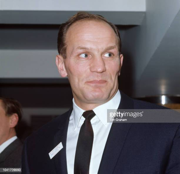 English heavyweight boxer Henry Cooper attends the Sportsman of the Year luncheon in London 27th November 1968