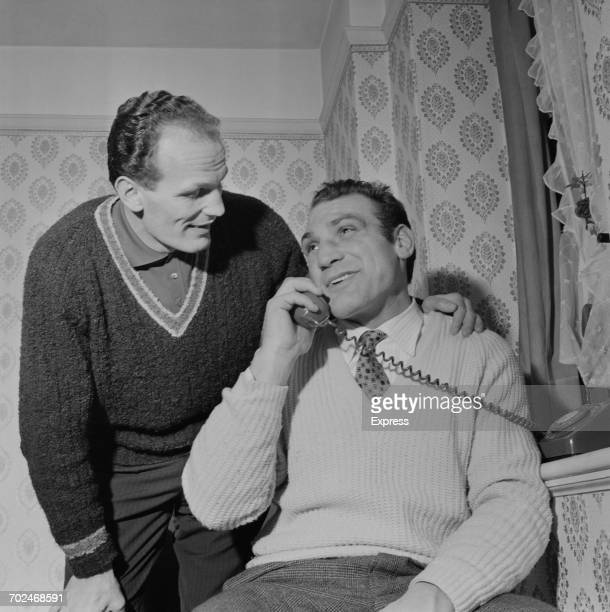 English heavyweight boxer Henry Cooper UK 20th February 1964