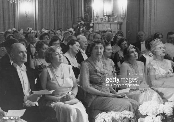 English heiress Rachel Parsons at a party which she gave at her home in Grosvenor Square London 1937 Parsons the daughter of British engineer Charles...