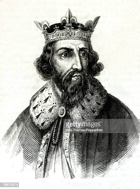 English History Kings and Queens Illustration pic 880 AD King Arthur who reigned 871899 one of the great early Kings of England