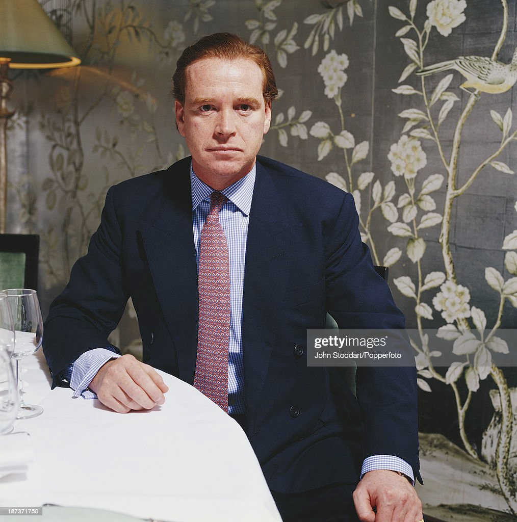 English household cavalry officer James Hewitt, circa 1998.