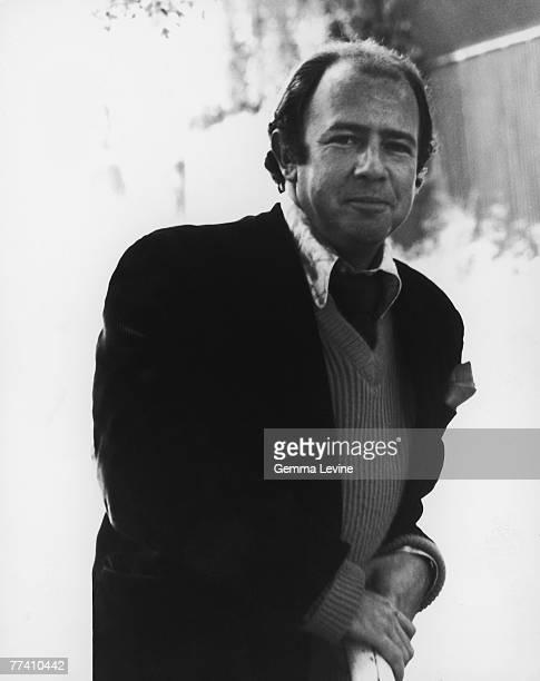 English humourist magazine editor broadcaster and writer Alan Coren circa 1978