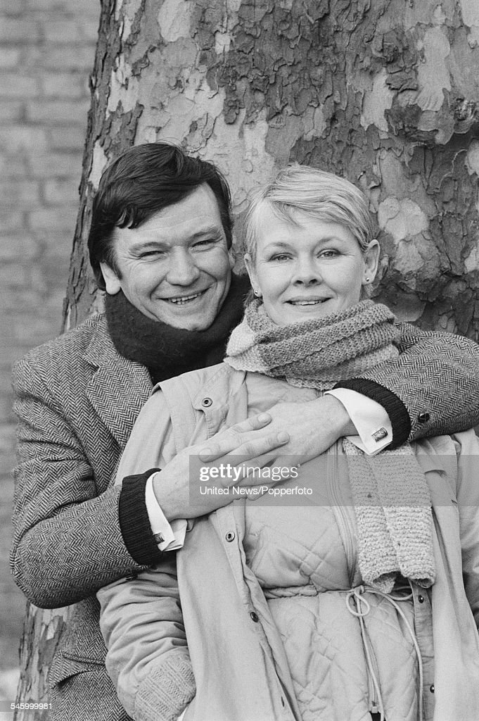 Judi Dench And Michael Williams : News Photo