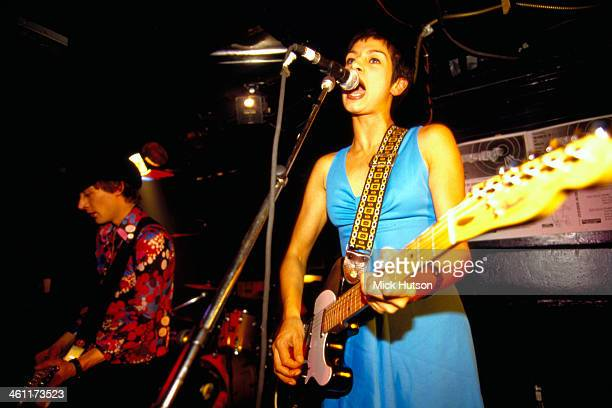 English indie band Tiny Monroe on stage circa 1995