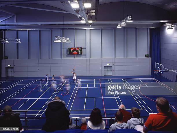 English Institute Of Sport, Sheffield, United Kingdom, Architect Faulkner Browns, English Institute Of Sport Basketball Court