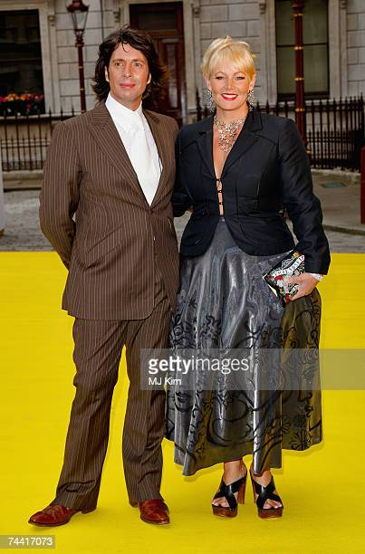 English interior designer and television personality Laurence LlewelynBowen and his wife Jackie arrive at the 2007 Royal Academy Summer Exhibition...