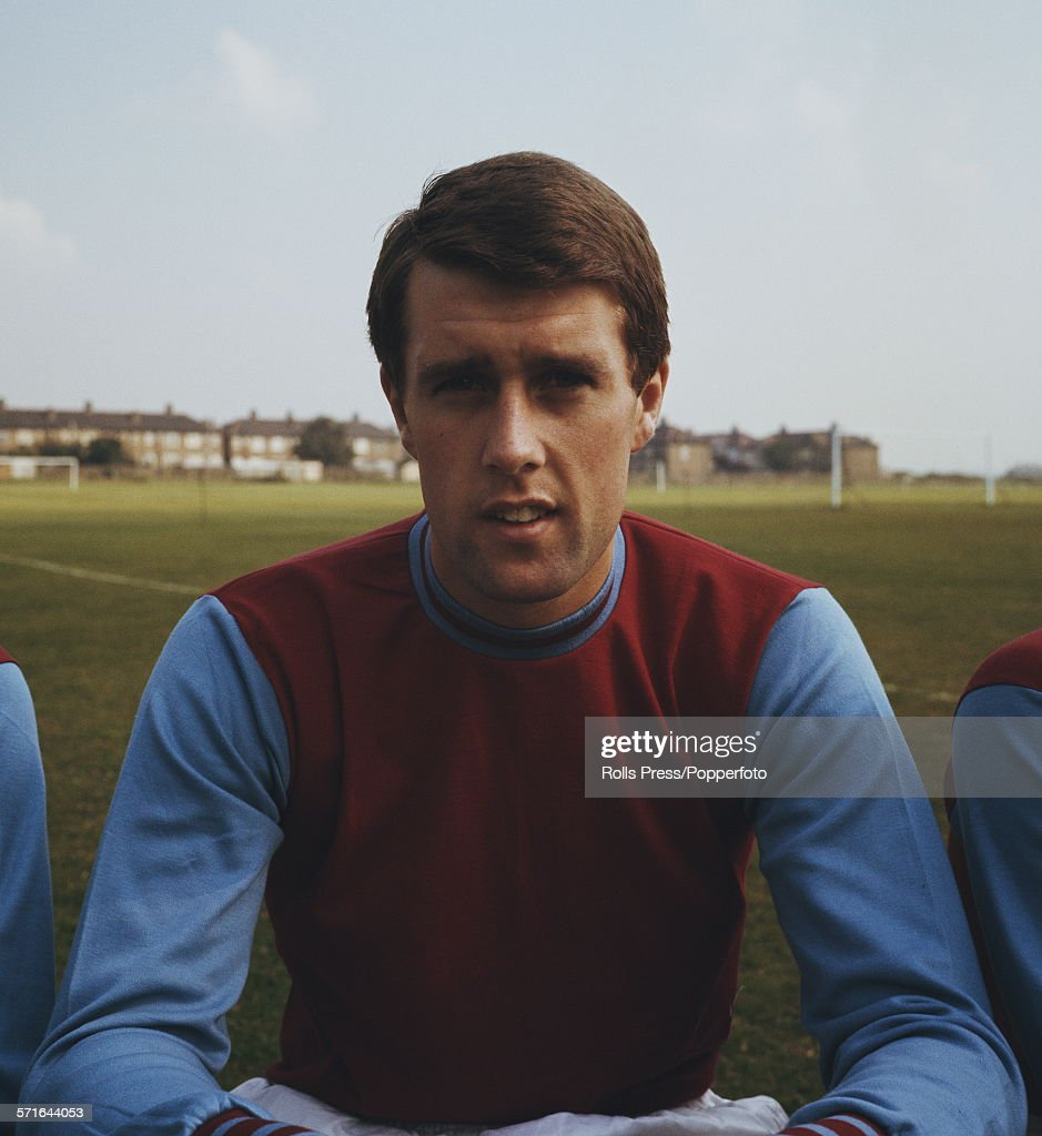 Geoff Hurst Of West Ham : News Photo