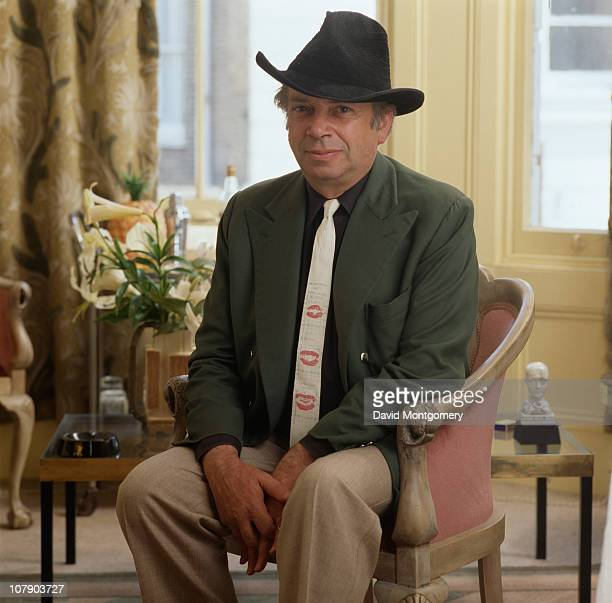 English jazz and blues singer George Melly 1st December 1980
