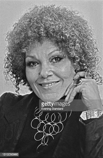 English jazz singer Cleo Laine, UK, 23rd November 1973.
