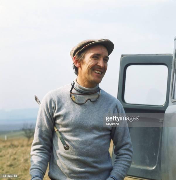 English jockey Joe Mercer circa 1970