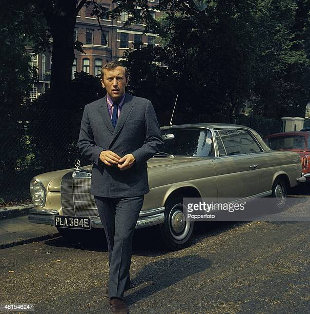 1968 English journalist and broadcaster David Frost in London in 1968