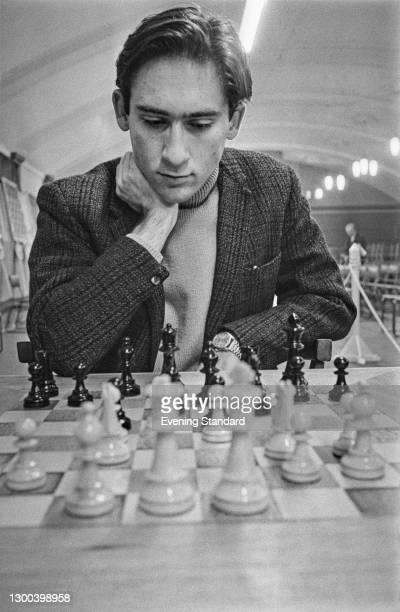 English journalist and chess player William Hartston, UK, 7th February 1973.