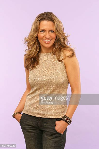 English journalist and radio DJ Jackie Brambles, circal 2005.