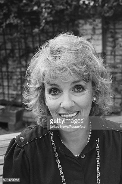 English journalist and television presenter Esther Rantzen posed in London on 24th October 1985