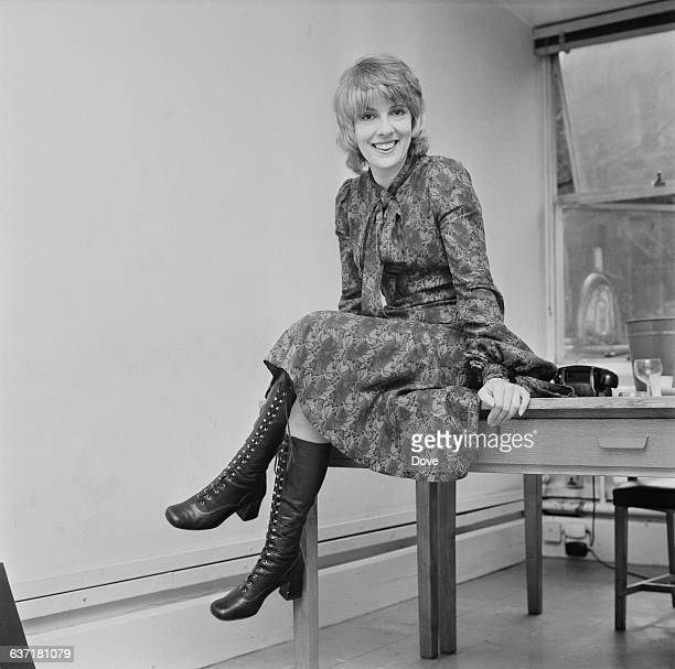 English journalist and television presenter Esther Rantzen UK 22nd April 1971