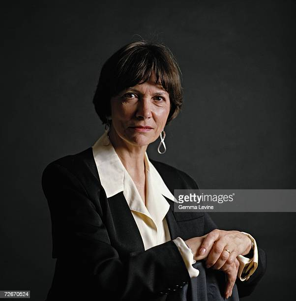 English journalist and television presenter Joan Bakewell circa 1995
