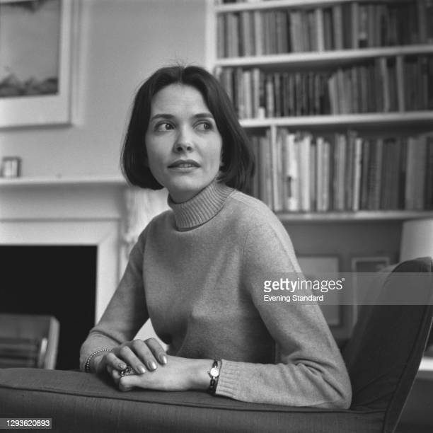 English journalist and television presenter Joan Bakewell, UK, 18th April 1966.