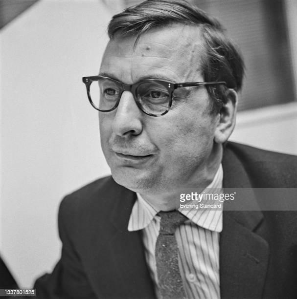 English journalist Angus McGill of the London Evening Standard, UK, 17th November 1965.