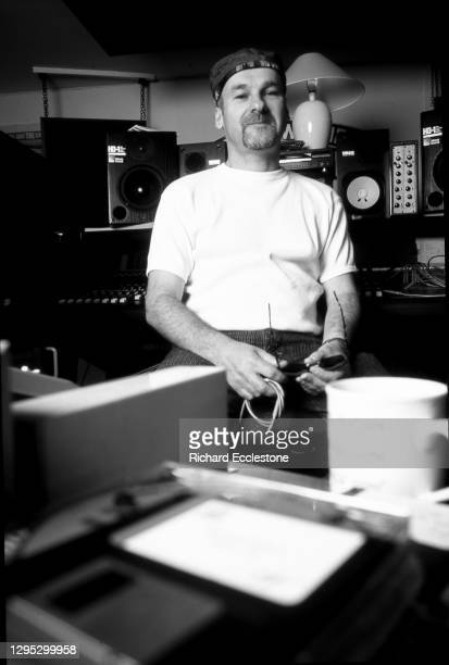 English keyboard player and signer Paul Carrack, portrait, 1998. He is best known as a member of the bands Ace, Squeeze and Mike & The Mechanics.