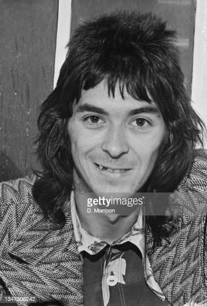 English keyboard player Ian McLagan of the rock band Faces, UK, 13th October 1972.