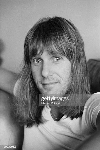 English keyboard player Keith Emerson, of Emerson, Lake & Palmer, at home, 4th September 1971.
