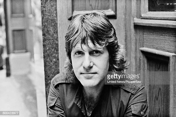 English keyboard player, musician and member of Emerson, Lake and Palmer, Keith Emerson in Soho, London on 10th August 1984.