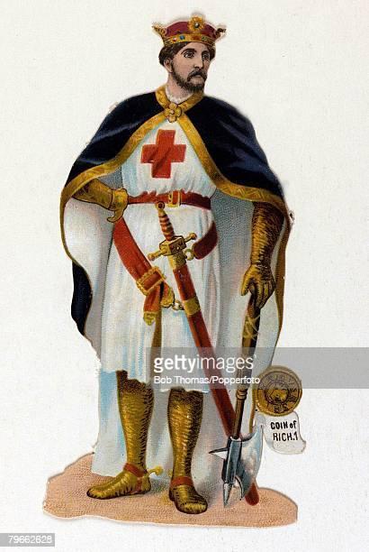English Kings Colour illustration King Edward III of England