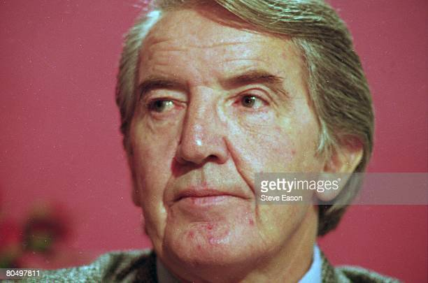English Labour politician and former coal miner Dennis Skinner at the last party conference before the 1997 election October 1996