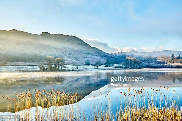english lake district in winter,england - cumbria stock pictures, royalty-free photos & images