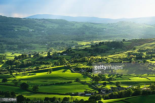 english lake district: lyth valley - may stock pictures, royalty-free photos & images