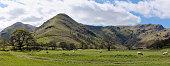 English Lake District mountain panorama