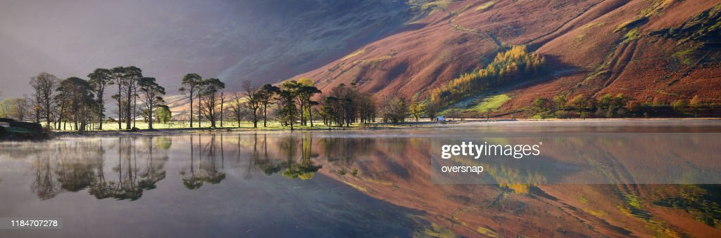English Lake District panorama : Stock Photo