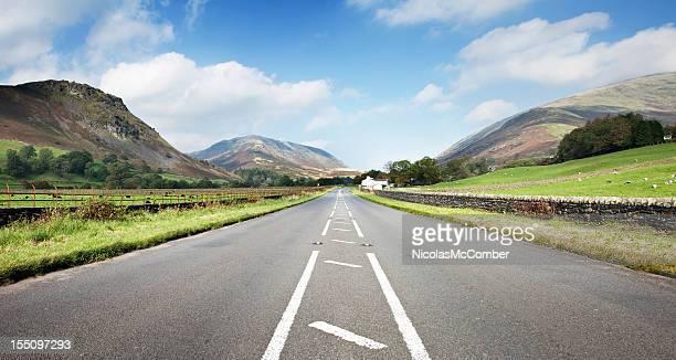 English Lake District Road