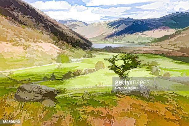 English Lake District viewpoint