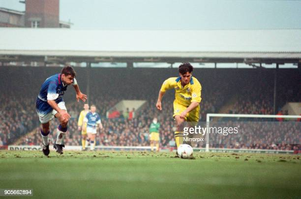 English League Division One match at Portman Road Huddersfield Town AFC 1 2 Ipswich Town FC Ben Thornley 1st May 1996